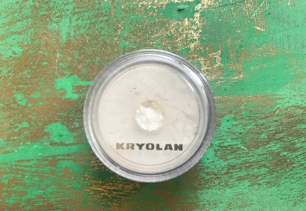 Kryolan Glamour Sparks Golden Sparks Review