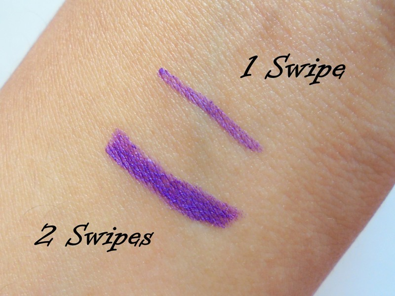 L'Oreal Infallible Silkissime Silky Pencil Eyeliner 240 Pure Purple Review 4