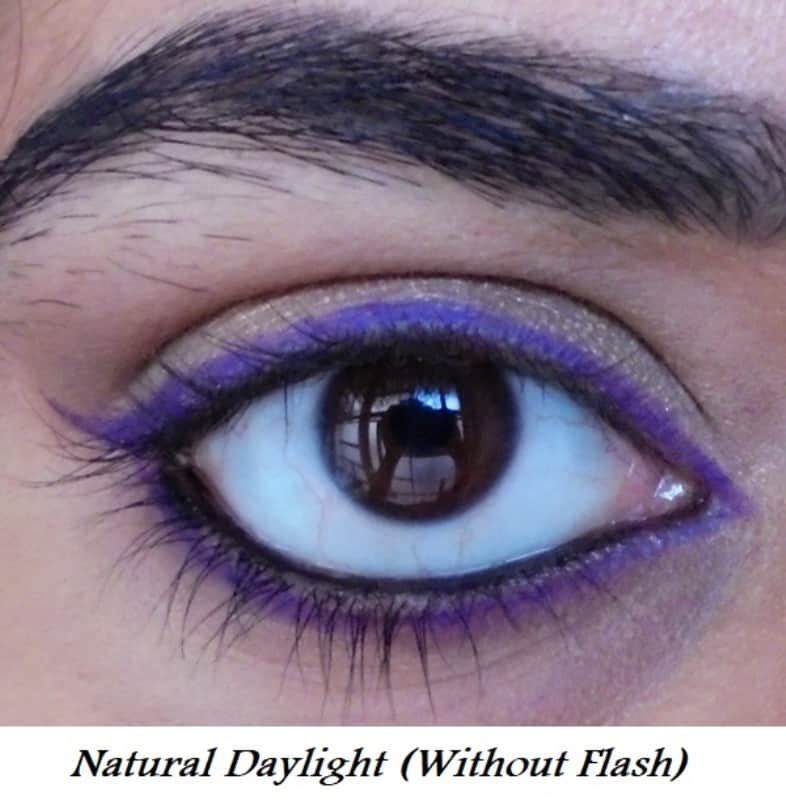 L'Oreal Infallible Silkissime Silky Pencil Eyeliner 240 Pure Purple Review 5