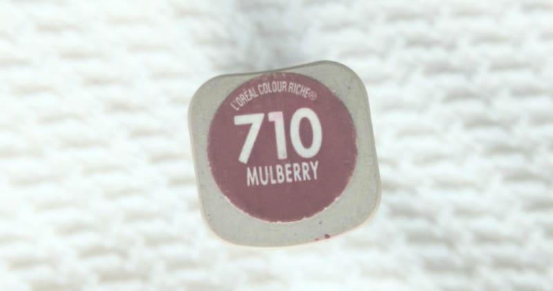 L'oreal Color Riche Lipstick Mulberry 710 1