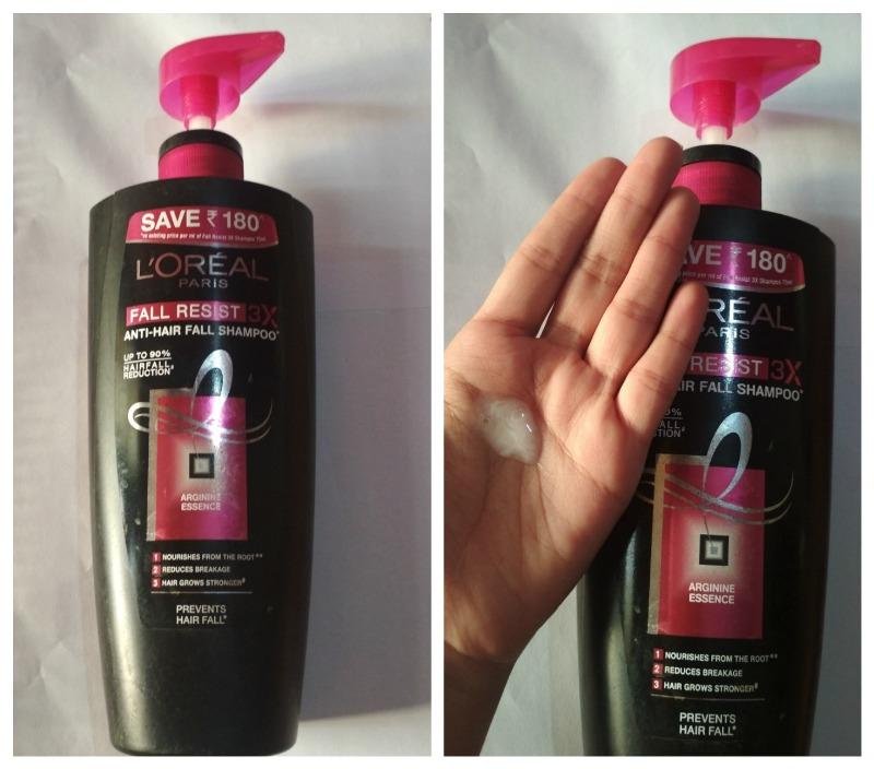 L'oreal Fall Resist 3x Shampoo