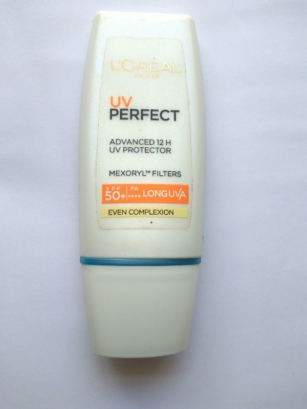 L'oreal UV Perfect Advanced 12h Uv Protector, Spf 50+ Even Complexion