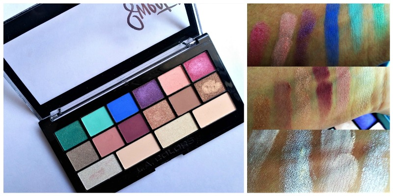 LA Colors Sweet 16 Eyeshadow Palette Playful