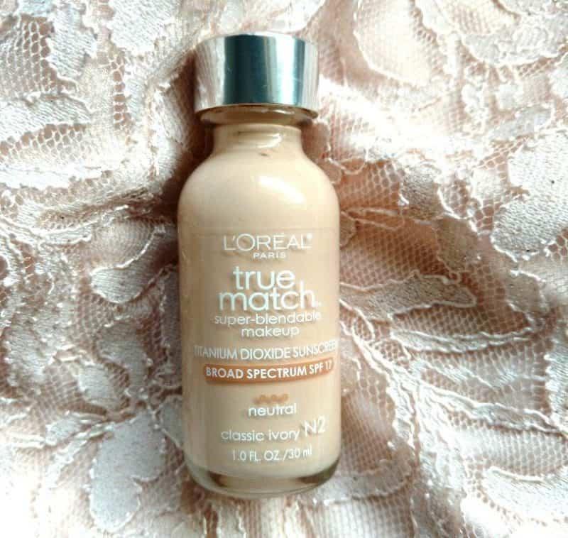 L'Oreal Paris True Match Super Blendable Makeup Foundation Review (1)