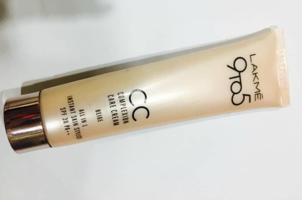 Lakme 9 to 5 CC Cream Review