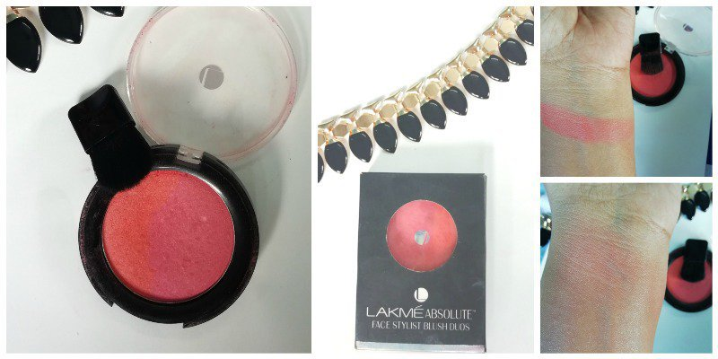 Lakme Absolute Face Stylist Blush Duos Coral Blush