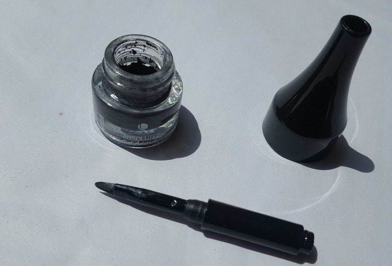 Lakme Absolute Gel Addict Eyeliner Grey Ash 2