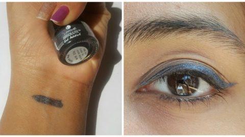 Lakme Absolute Gel Addict Eyeliner Grey Ash 3