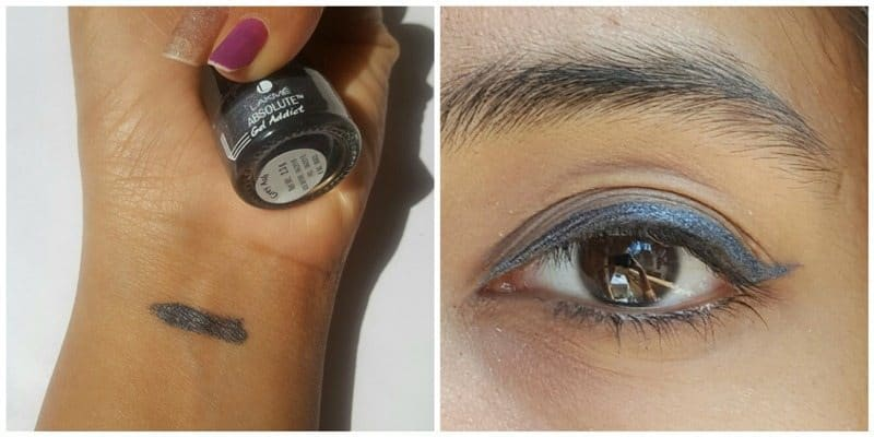 Lakme Absolute Gel Addict Eyeliner Grey Ash 3