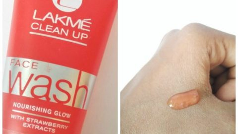 Lakme Clean Up Face Wash With Strawberry Extracts 3
