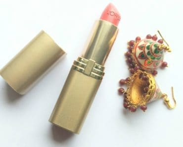 Loreal Paris Tropical Coral Lipstick 444 1