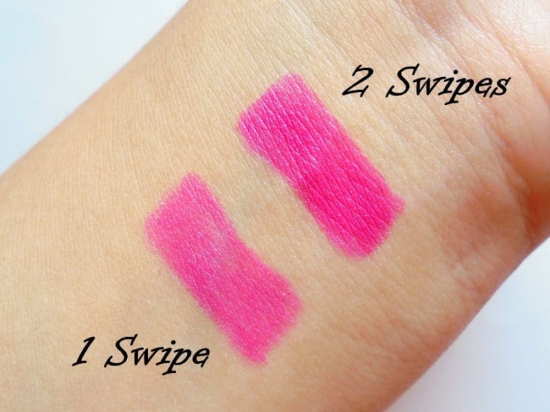 Lakme Enrich Lip Crayon 06 Pink Burst Review 3