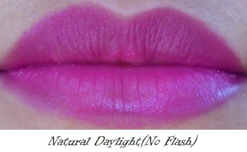 Lakme Enrich Lip Crayon 06 Pink Burst Review 4