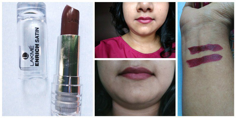 Lakme Enrich Satin Lipstick M455