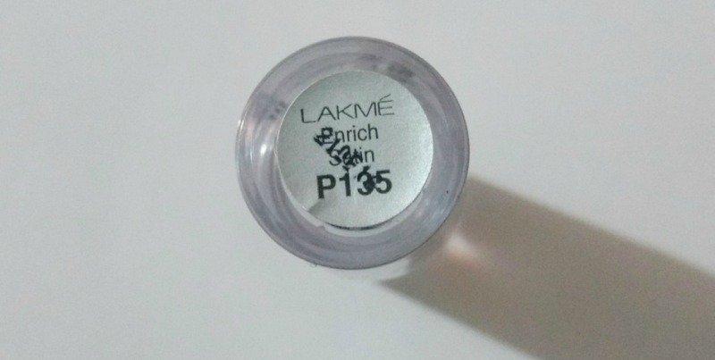 Lakme Enrich Satin Lipstick P135  2
