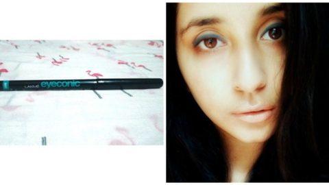 Lakme Eyeconic Grey Kajal Review 5