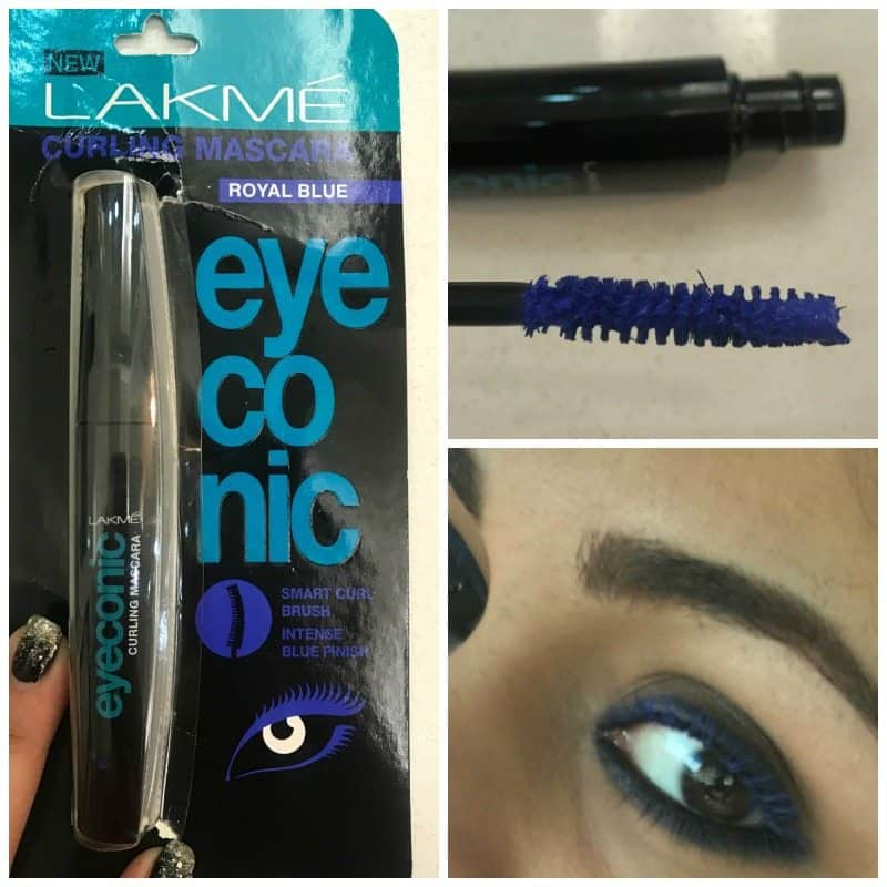 Lakme Iconic Curling Mascara Royal Blue Review