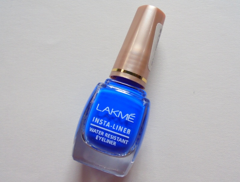 Lakme Insta Liner Blue Review
