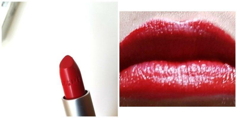 Lakme RM14 Enrich Matte Lipstick Review 4