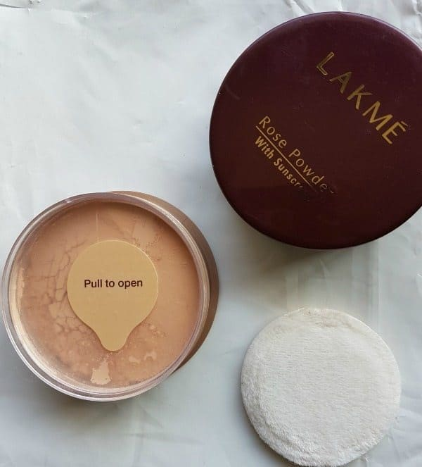 Lakme Rose Powder With Sunscreen Review 1