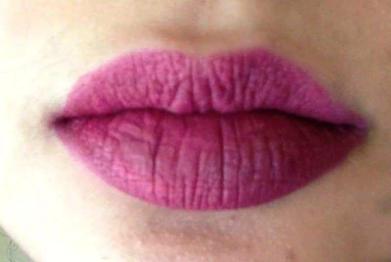Lime Crime Matte Velvetine Beet It Review and Swatches - Glossypolish