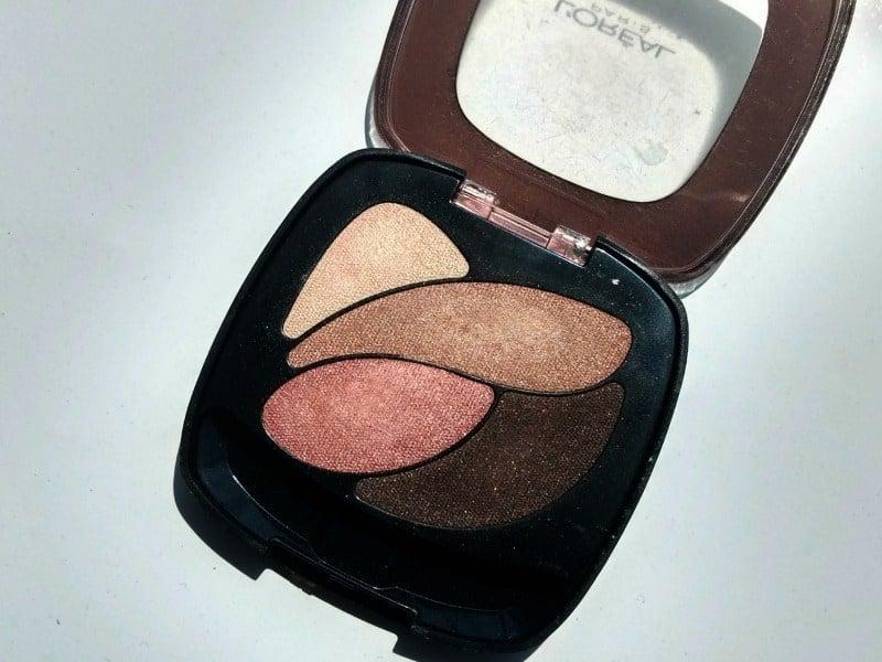 Loreal Eyeshadow Palette Rose Nude 1