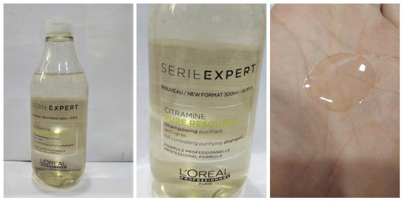 Loreal Serie Expert Citramine Pure Resource Shampoo