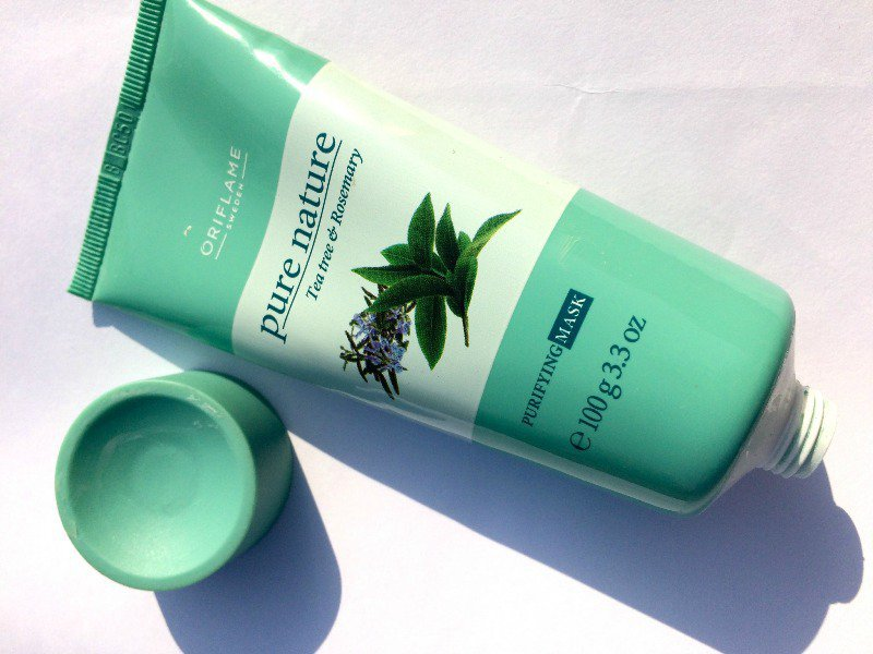 Love Nature Oriflame Tea Tree And Rosemary Face Mask 1