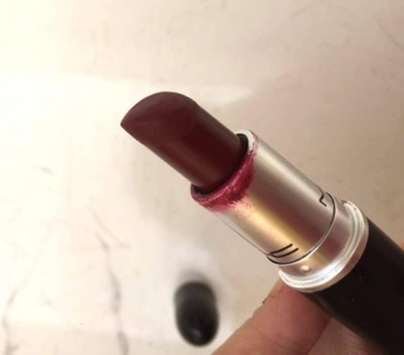 MAC Diva Matte Lipstick Review 2