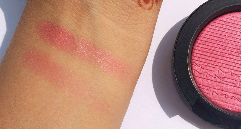 MAC Extra Dimension Blush Skinfinish Blush Rosy Cheeks 3