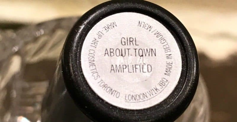 MAC Girl About Town Amplified Crème Lipstick 1