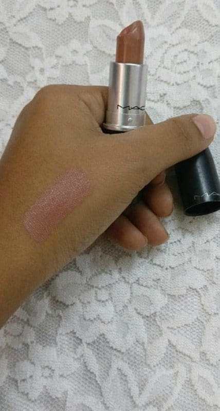MAC Half n Half Lipstick 2