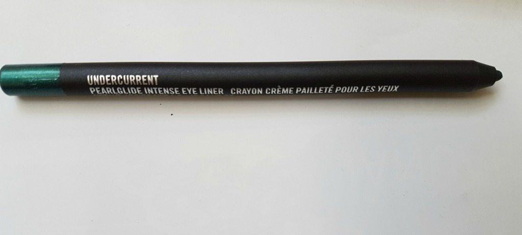MAC Pearlglide Intense Eyeliner Crayon Undercurrent Review 5