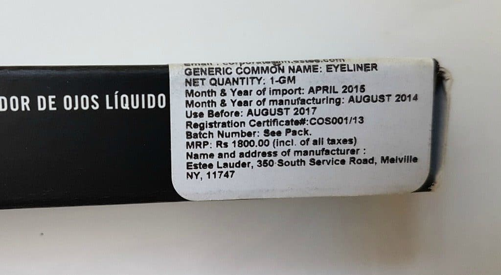 MAC Penultimate Eye Liner Rapid Black 2
