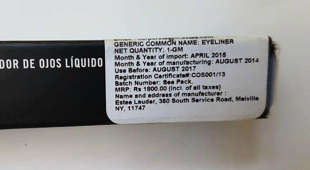 MAC Penultimate Eye Liner Rapid Black 2