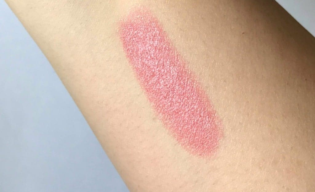 MAC Sweetie Luster Lipstick Review  5