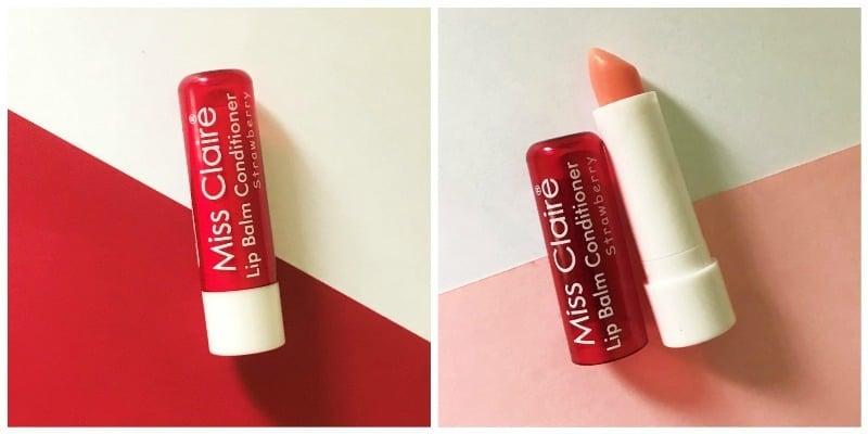 MISS CLAIRE Lip Balm Conditioner Strawberry