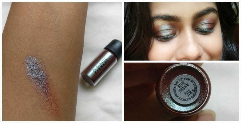 Mac Pigment Blue Brown