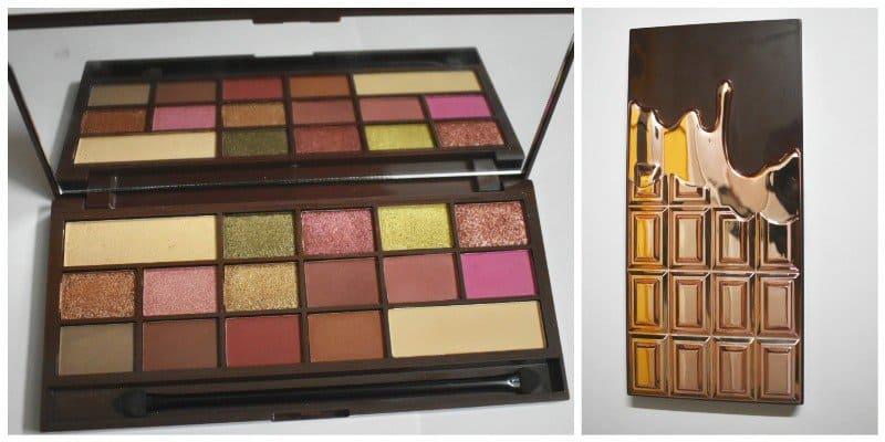 Makeup Revolution I Heart Chocolate Rose Gold Palette