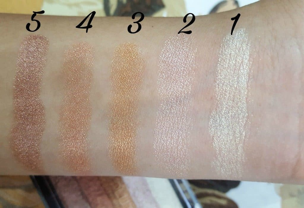 Makeup Revolution London Shimmer Brick Rose Gold Review