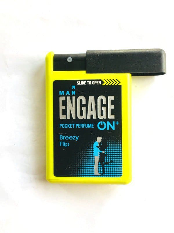 Man Engage On+ Pocket Perfume Breezy Flip