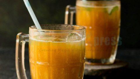 Mango Lemonade Flavored Iced Tea Recipe