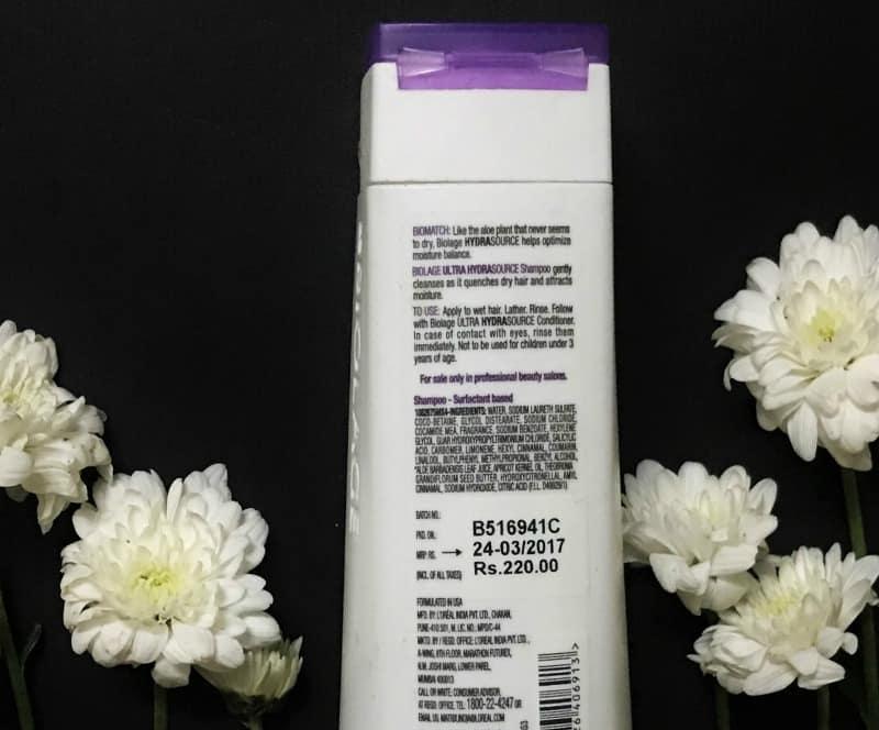 Matrix Biolage Shampoo Ultra Hydrasource Hydrating 1