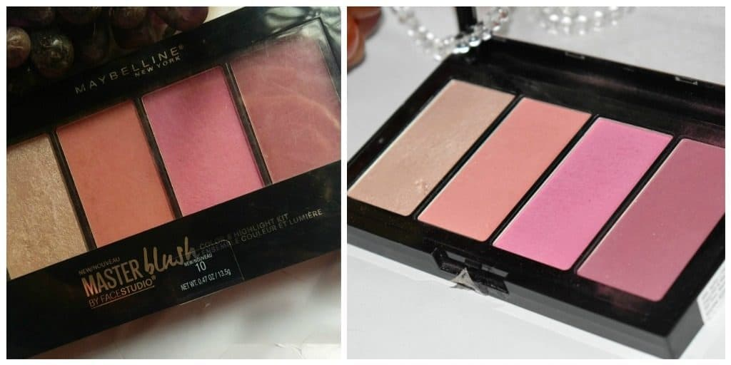 Maybelline Blush Palette + Maybelline Master Highlight 1