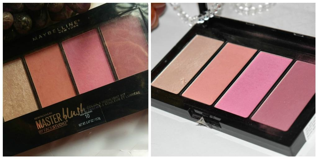 Maybelline Blush Palette + Maybelline Master Highlight 1