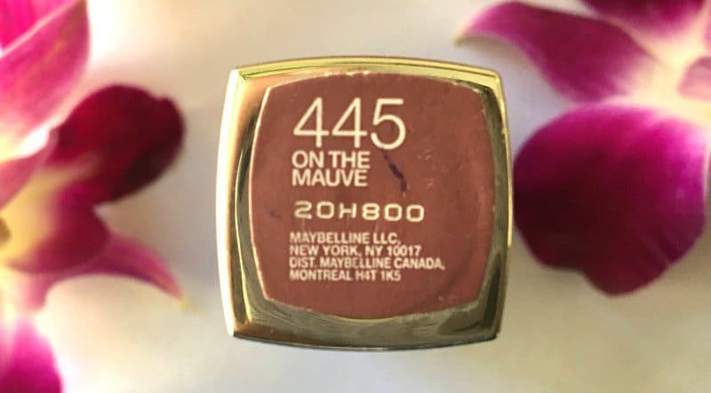 Maybelline Color Sensational Lipstick On the Mauve 445 1