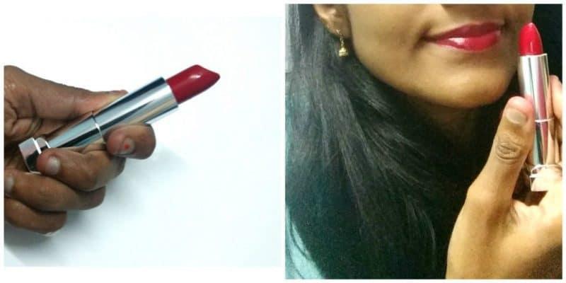Maybelline Color Sensational Lipstick Red Revolution Review 4