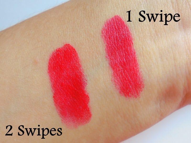 Maybelline Colorshow Bright Mattes Lipstick Brilliant Red M214 6