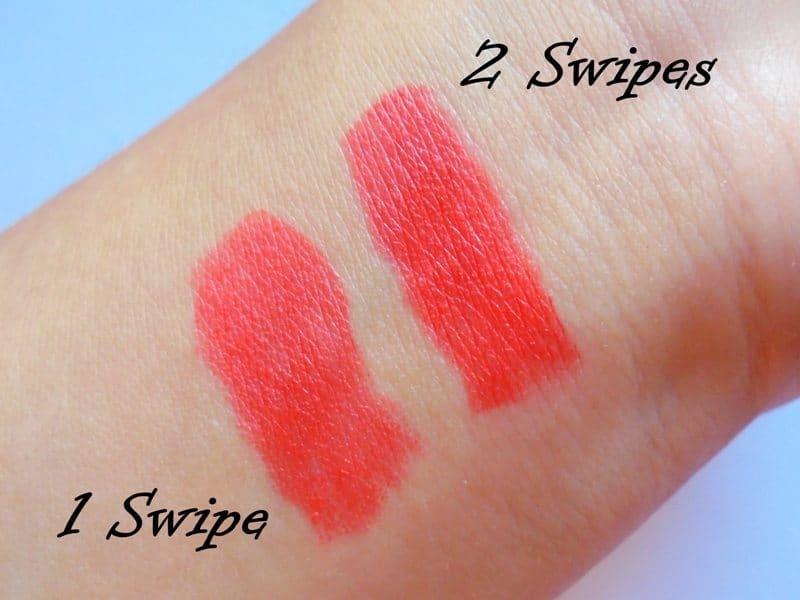 Maybelline Blazing Orange Colorshow Bright Mattes Lipstick  4