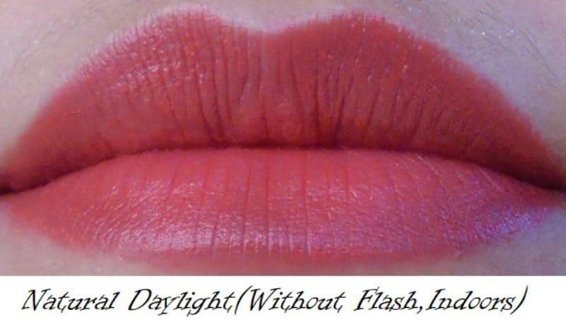 Maybelline Blazing Orange Colorshow Bright Mattes Lipstick  5